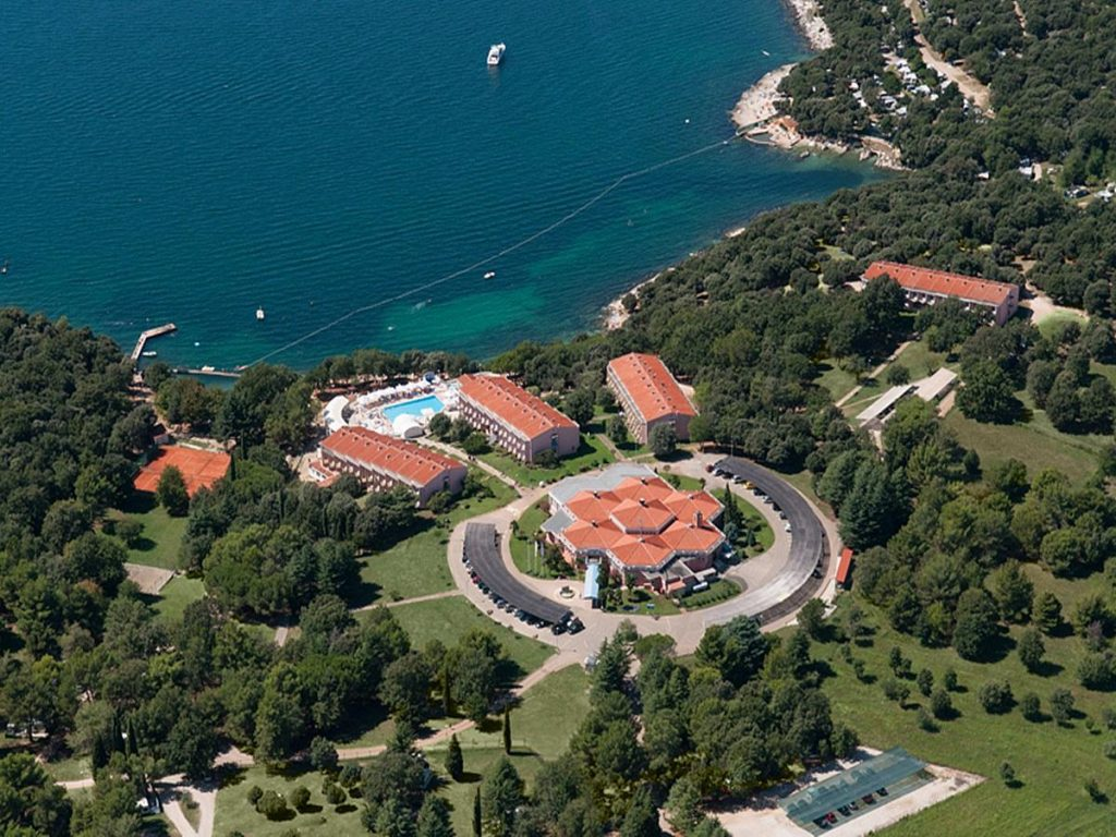 Funtana All Inclusive Hotel in Vrsara in Istria in Croatia