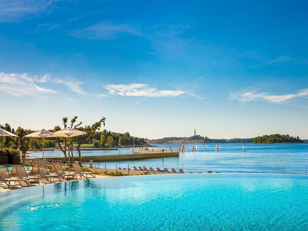 Amarin Resort Hotel in Rovinj in Istria in Croatia