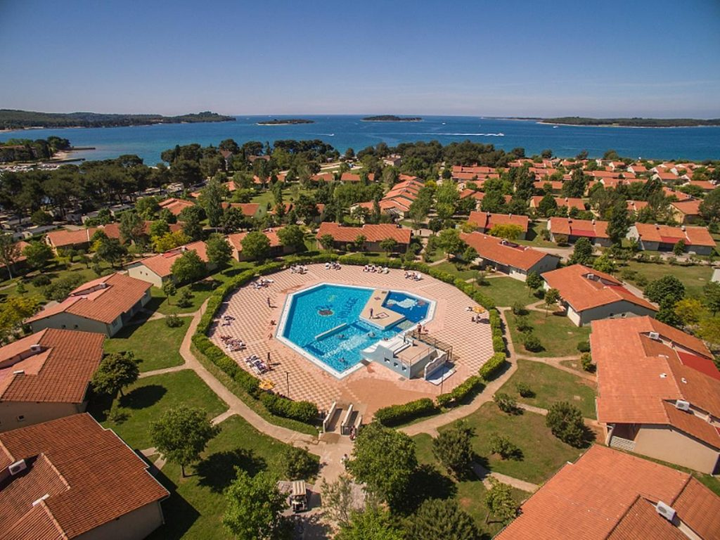 Apartments Bi-Village in Fazana near Pula in Croatia