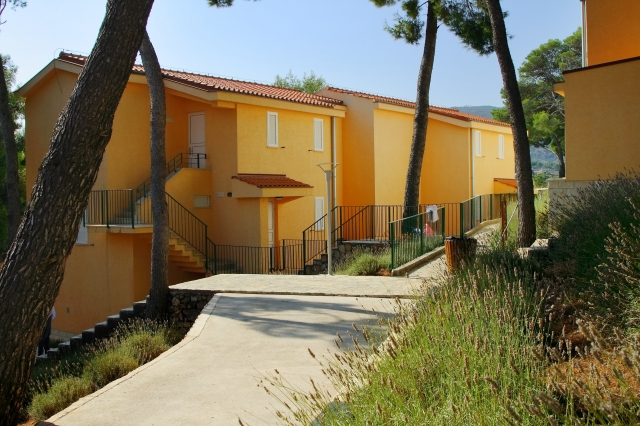 Apartments Fontana Resort in Hvar island in Croatia