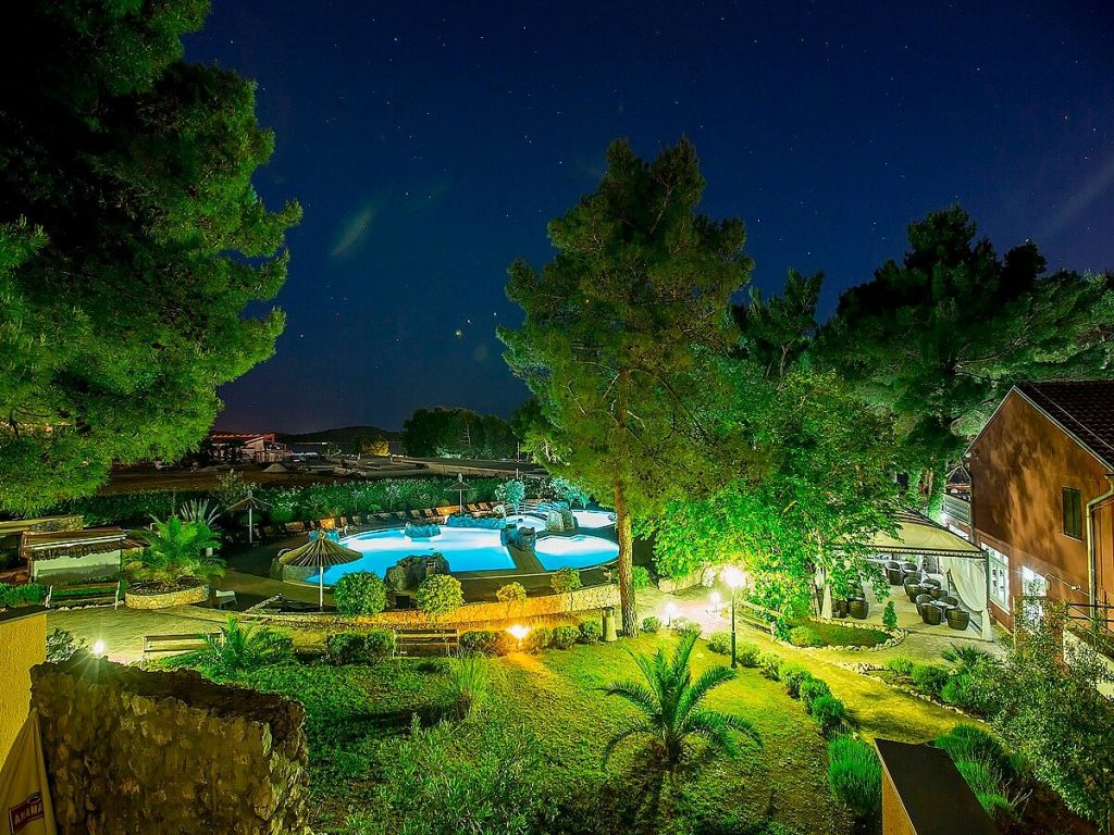 Apartments Matilde Beach Resort in Vodice in Croatia