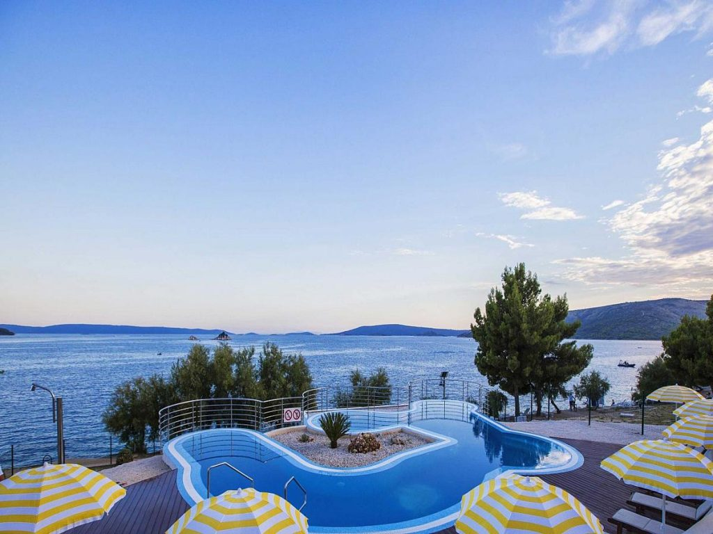 Apartments in Belvedere Resort in Seget Donji near Trogir in Croatia