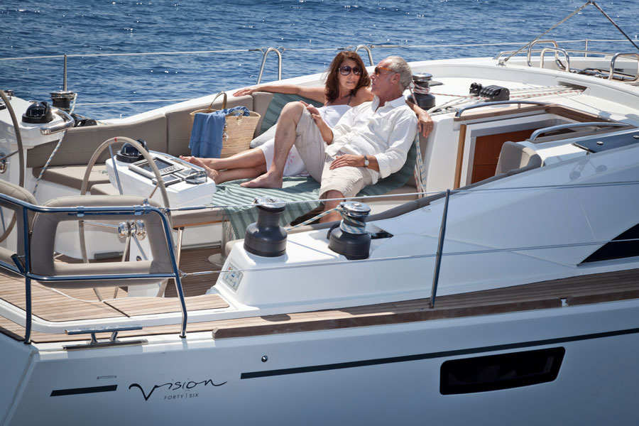 Sailing yachts and catamarans for charter in Split in Croatia