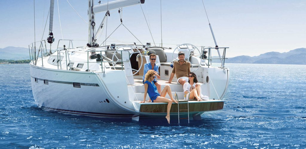 Sailing yachts and catamarans for charter in Murter island in Croatia