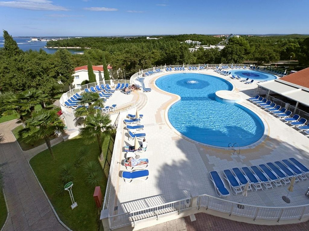Apartments and mobile homes in Porec in Istria in Croatia
