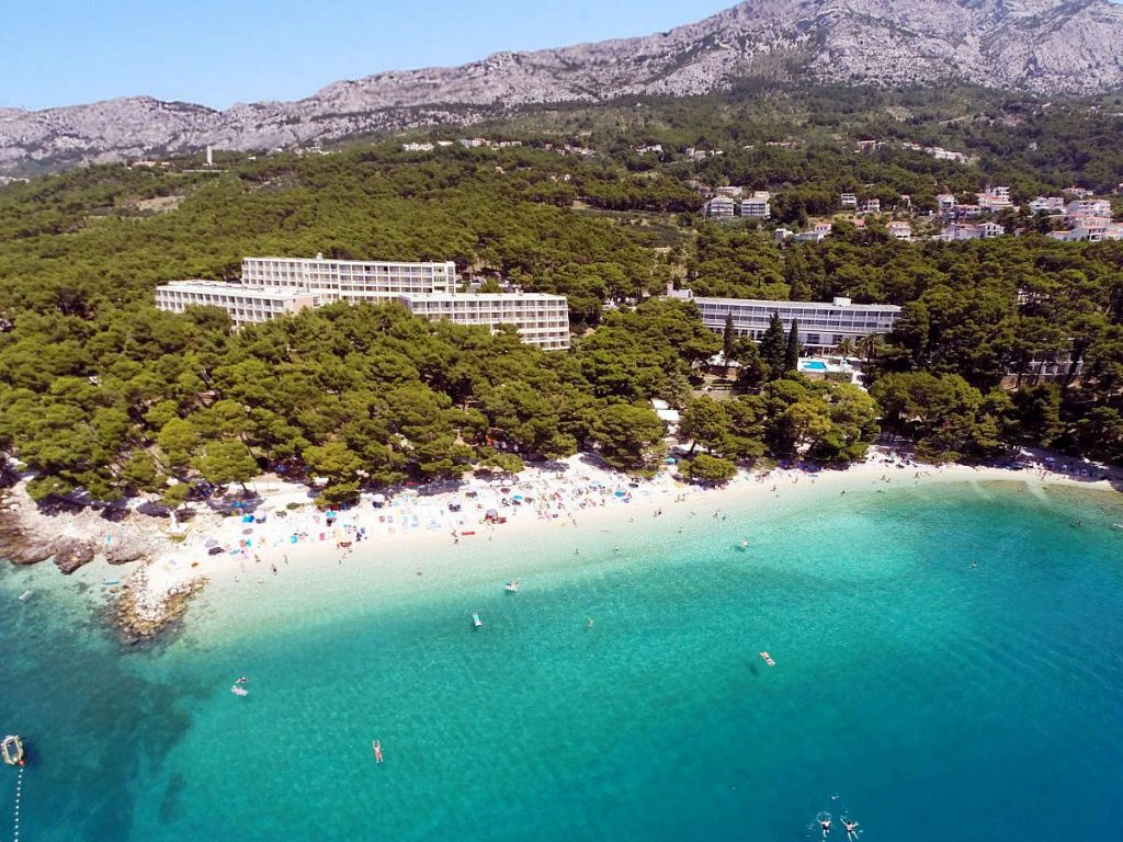 Bluesun Hotel Marina in Brela near Makarska in Croatia