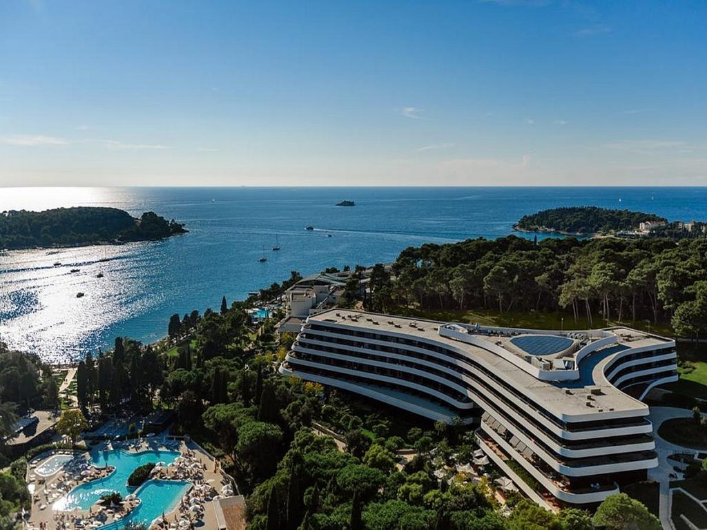 Luxury Hotel Lone in Rovinj in Istria in Croatia