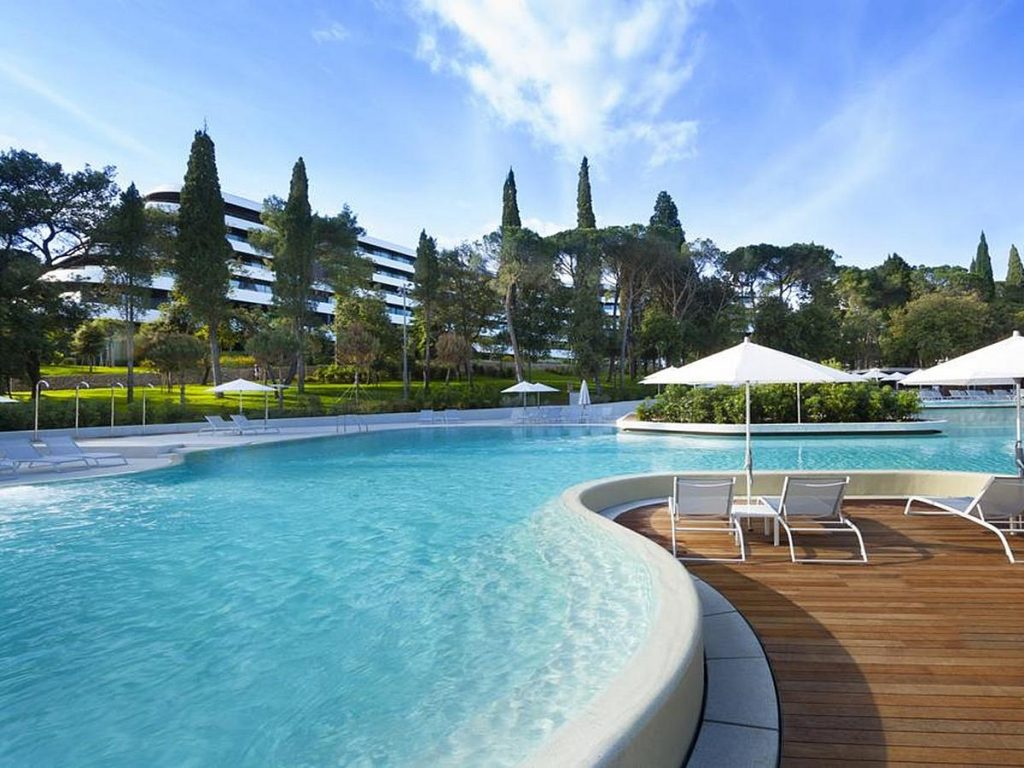 Luxury 5 star Hotel Lone in Rovinj in Istria in Croatia