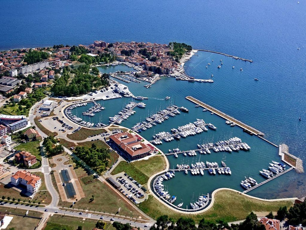 Hotel Nautica in Novigrad in Croatia