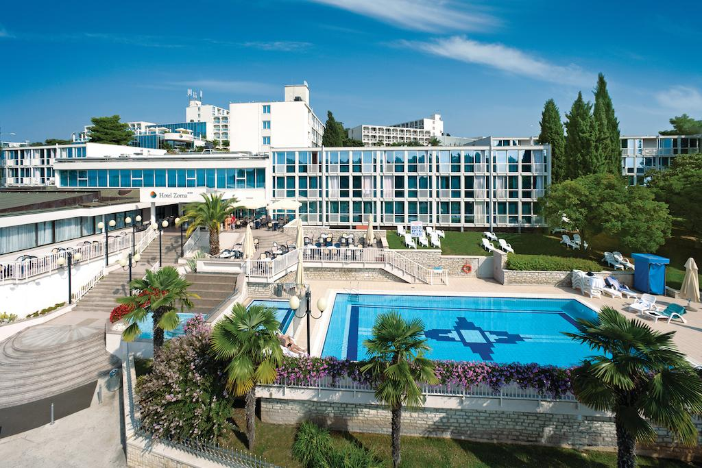 Zorna Plava Laguna All Inclusive Hotel in Porec in Istria in Croatia