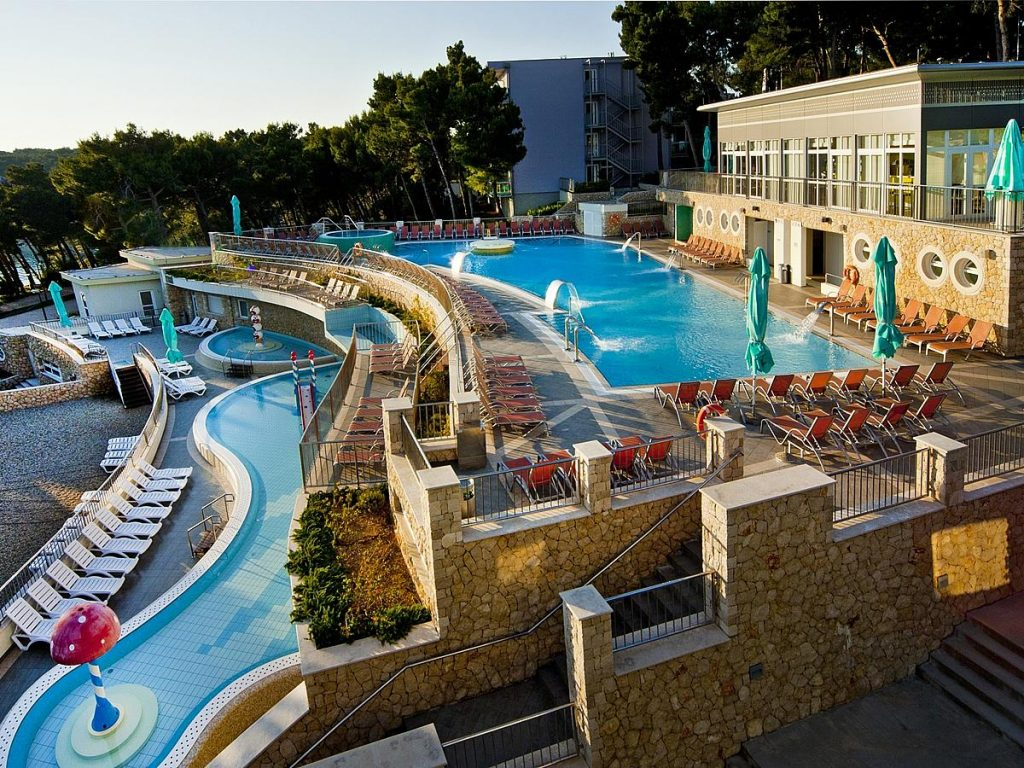 Hotels for families in Lošinj island in Croatia
