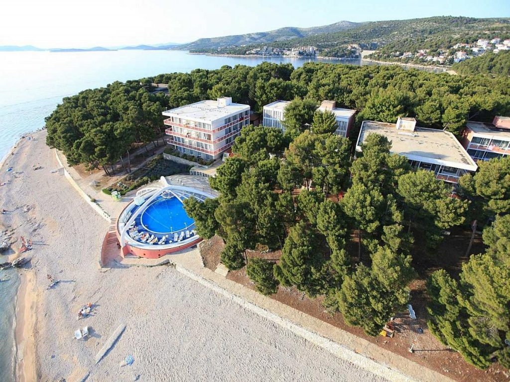 Hotels for families in Primošten in Croatia