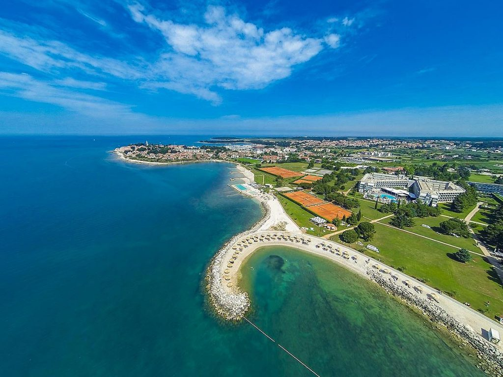 Hotels in Novigrad in Istria in Croatia