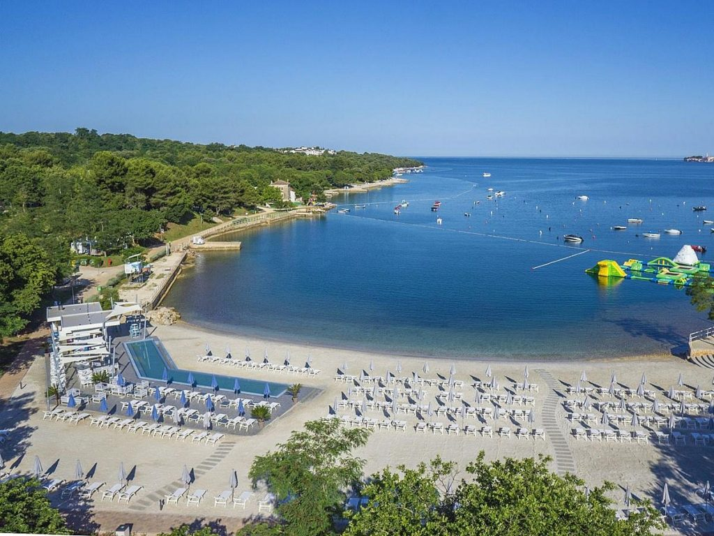 Hotels in Poreč in Istria in Croatia