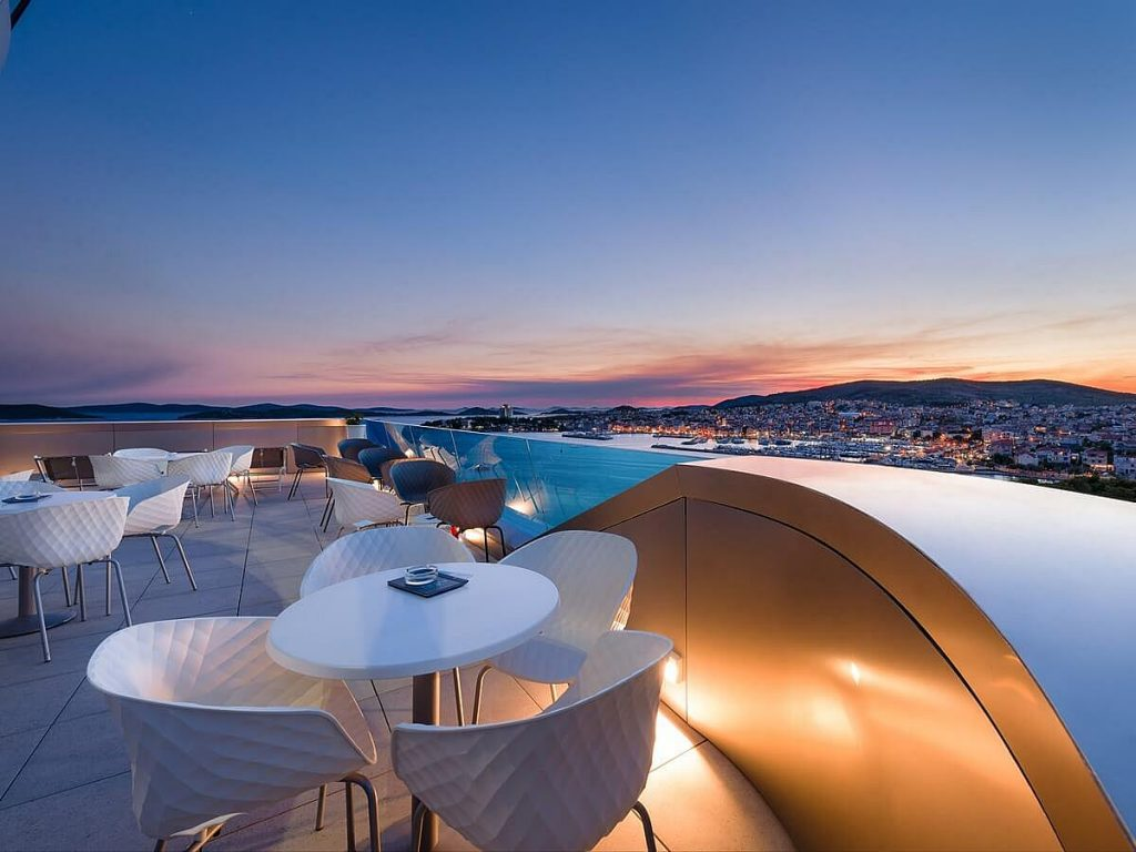 Hotels in Vodice in Dalmatia in Croatia