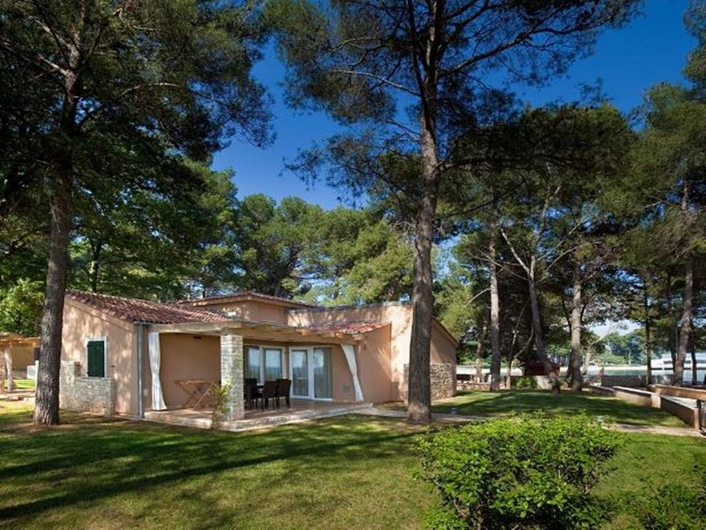Apartments and mobile homes and villas in Umag in Istria in Croatia