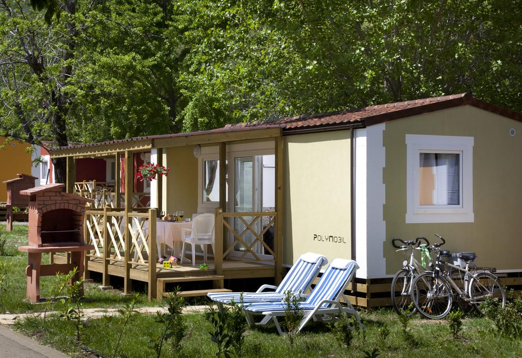 Mobile homes in Resort Medveja near Opatija in Croatia