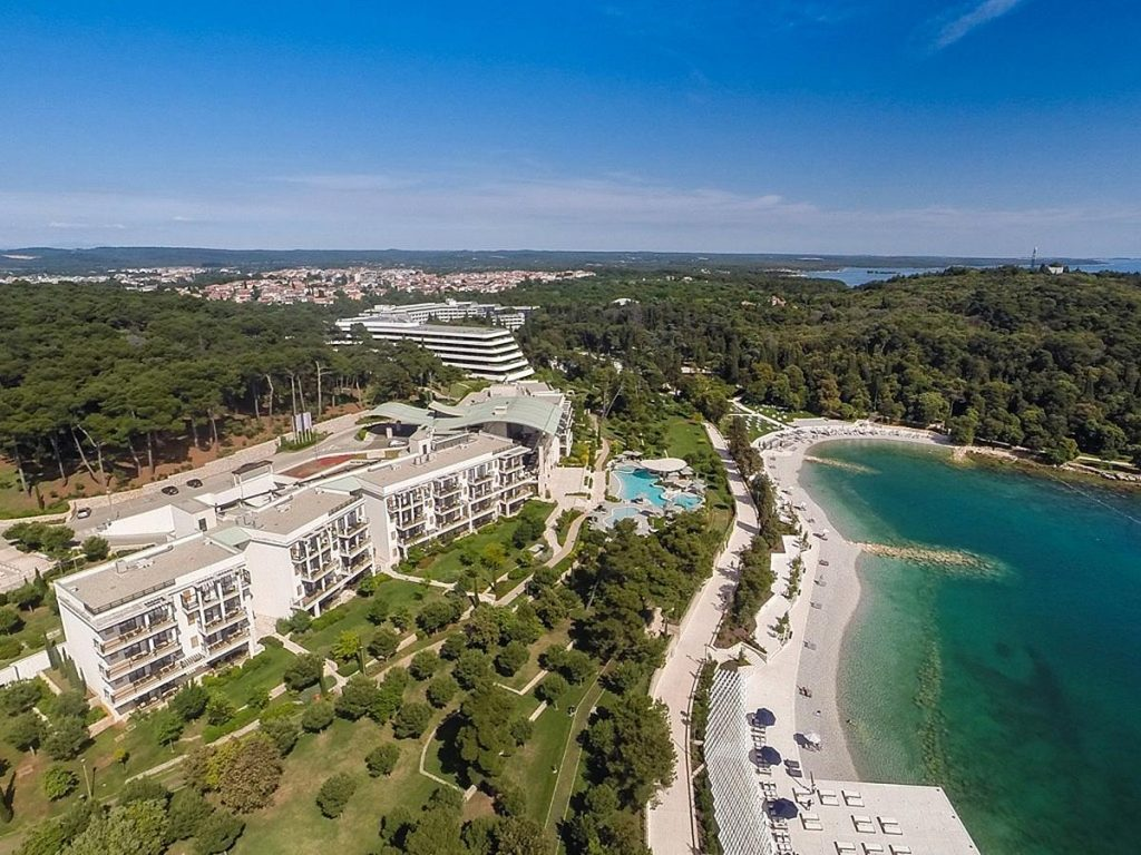 Luxury 5 star Mone Mulini hotel and Suites in Rovinj in Istria in Croatia