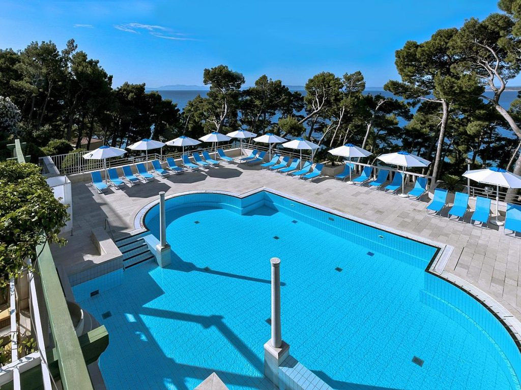 Sentido Bluesun Hotel Berulia in Brela near Makarska in Croatia