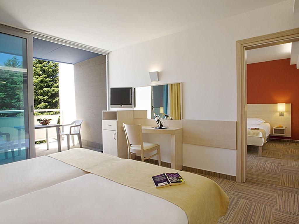 Valamar Crystal Hotel for family holiday in Porec in Croatia